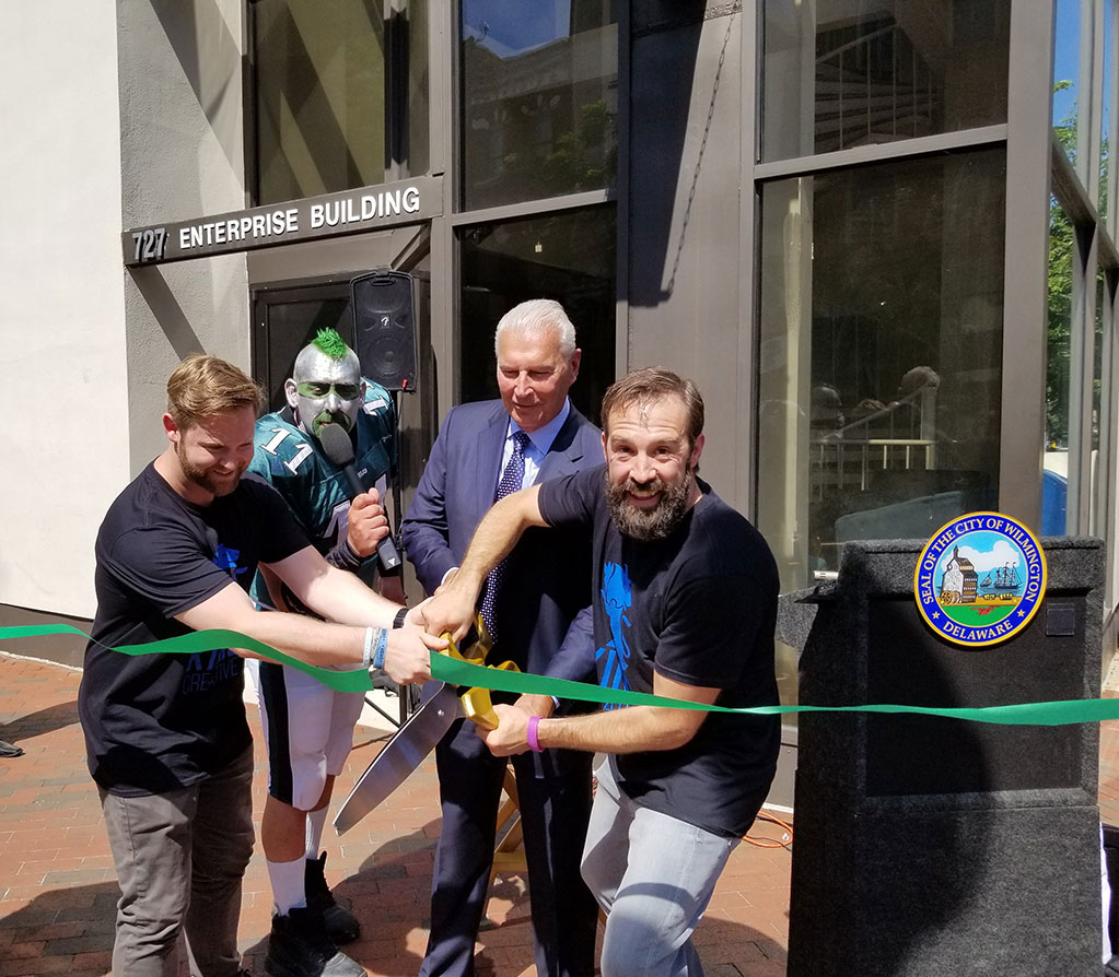 DBT - Mayor Joins King Creative Grand Opening