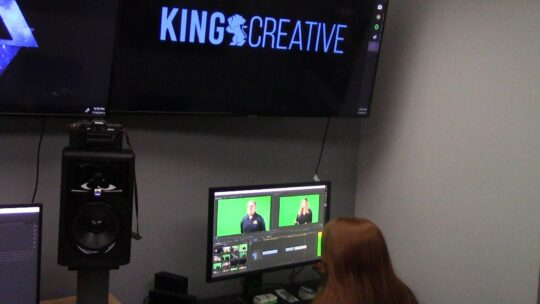 WDEL - King Creative - In The Studio